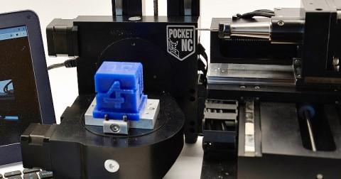 Pocket NC - die kompakte 5-Achs Desktop CNC-Fräsmaschine