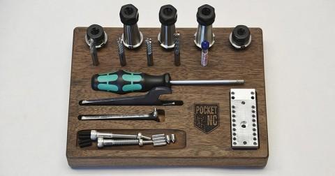 Zubehör Pocket NC / Werkzeug / Werkstoffe