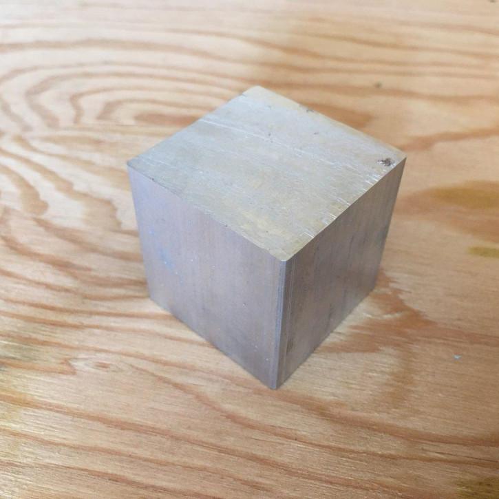 Aluminum-Würfel